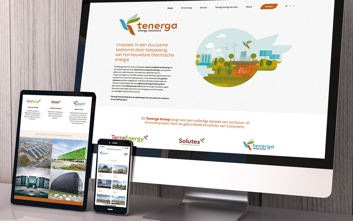 tenerga website
